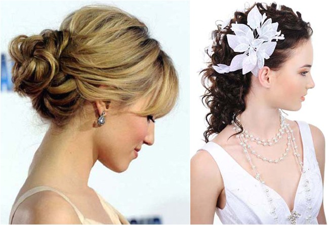 best wedding party hairstyles