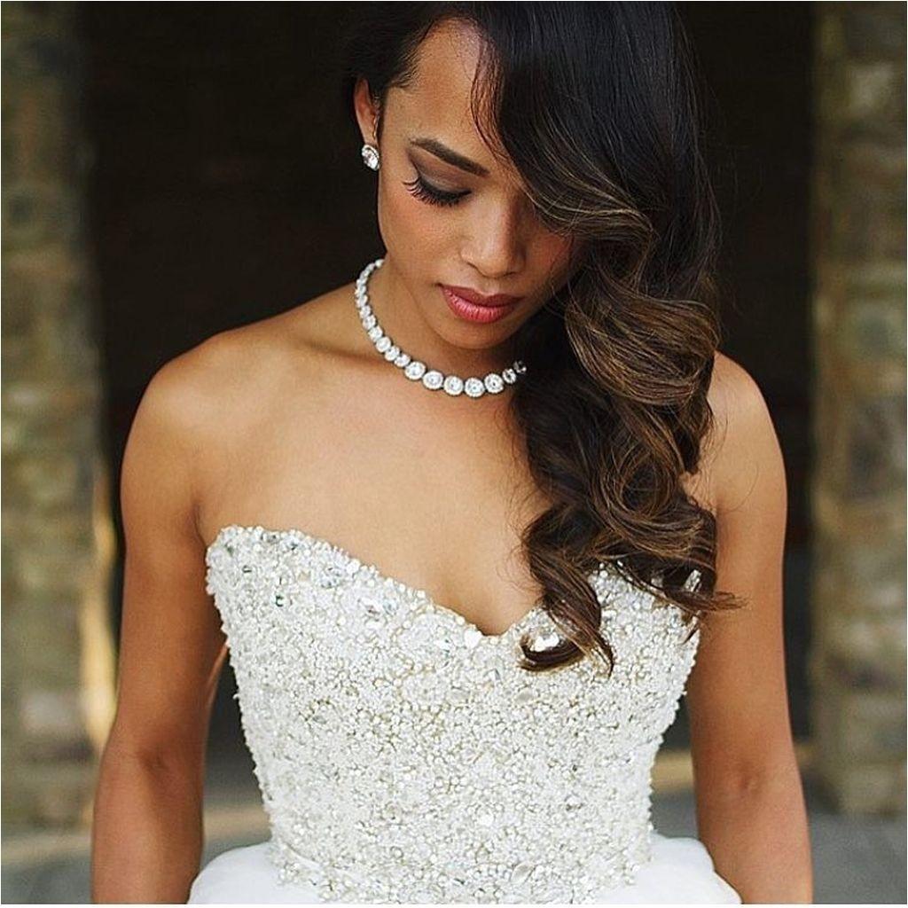 75 stunning african american wedding hairstyles ideas memorable wedding