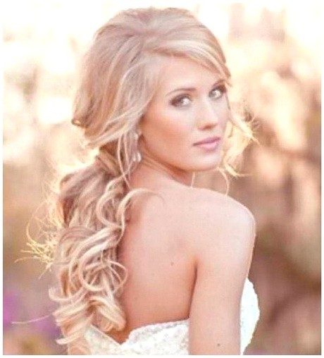 Hairstyles for Weddings to the Side Side Style Hairstyles for Weddings