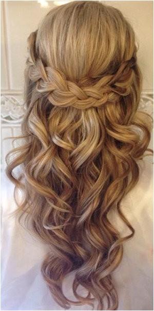 20 amazing half half wedding hairstyle ideas