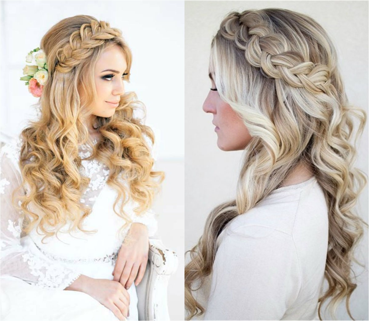 classy choice half half wedding hairstyles brides