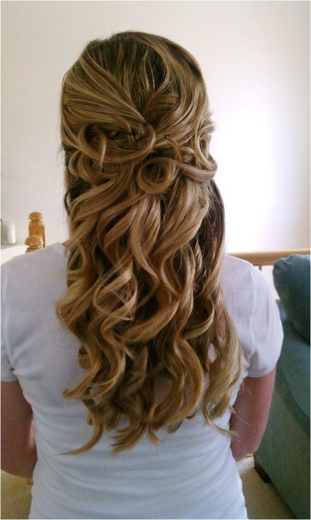 gorgeous wedding hairstyles half up half down