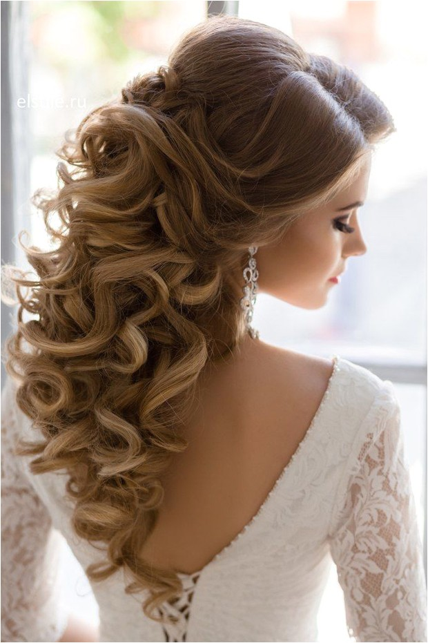 10 of the best half up half down wedding hairstyles