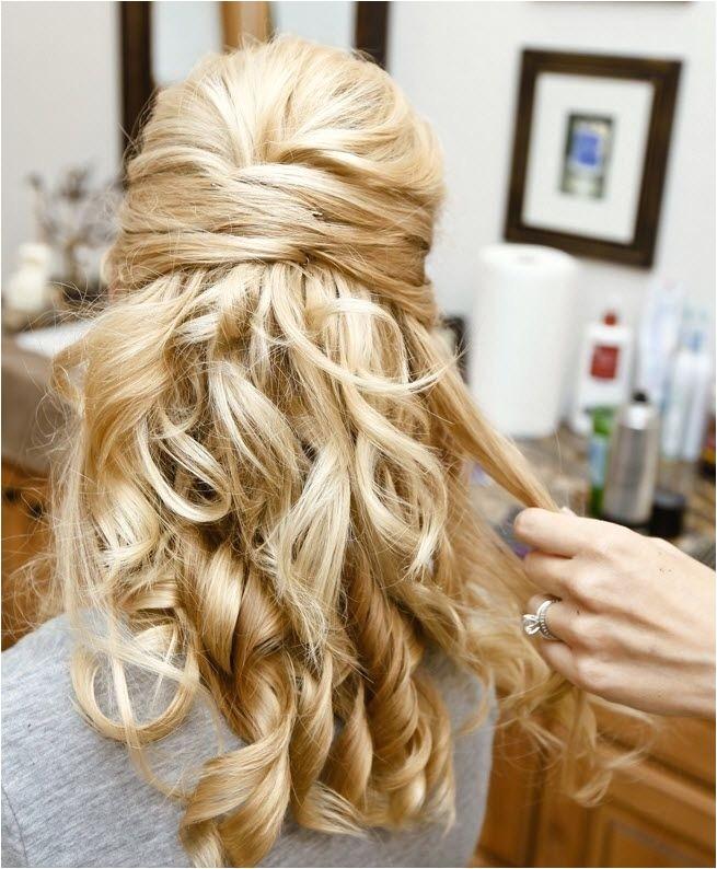 30 hottest bridesmaid hairstyles long hair