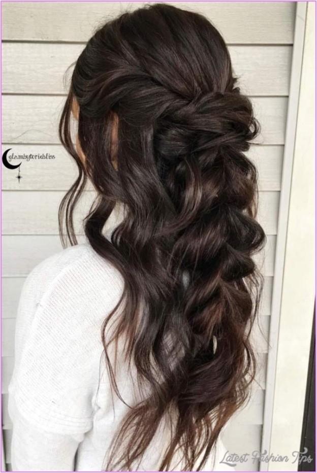 half updo hairstyles weddings