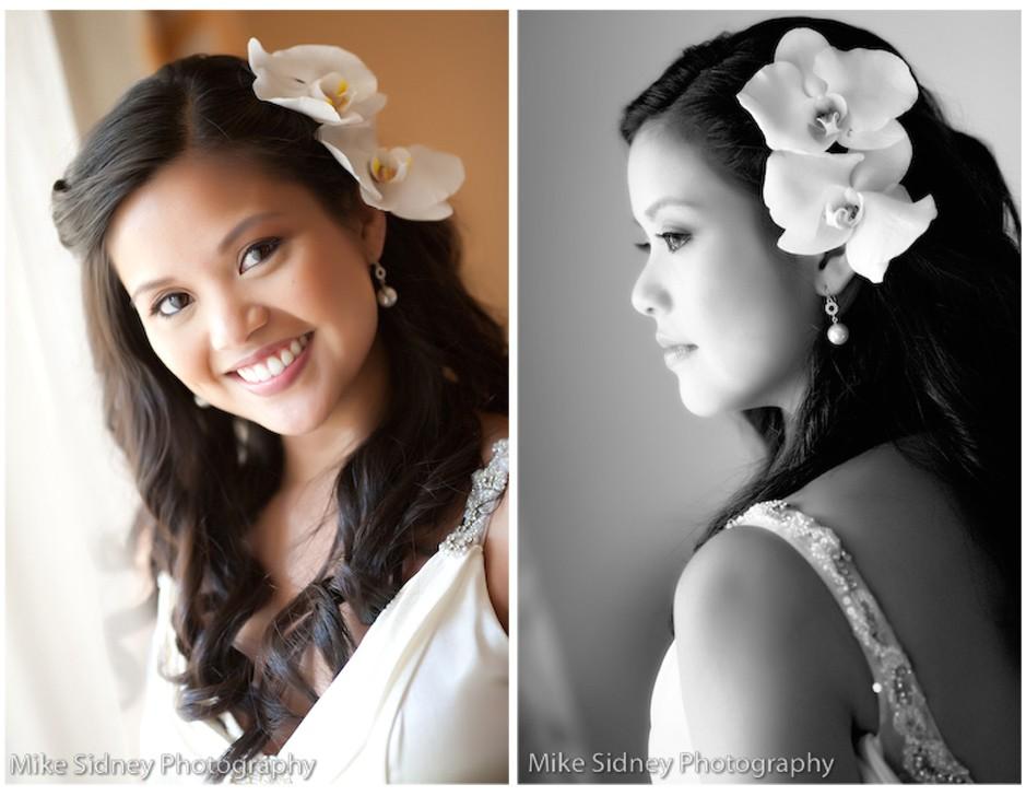 hawaii wedding hairstyles