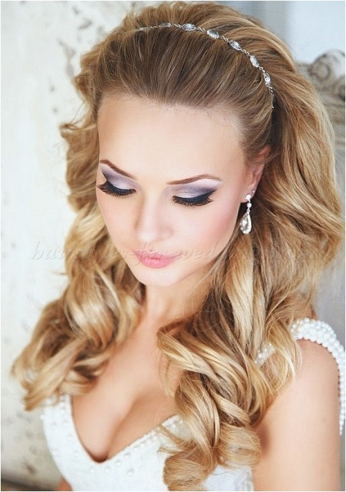 Headbands for Wedding Hairstyle Long Wedding Hairstyles Wedding Hairstyle with Headband