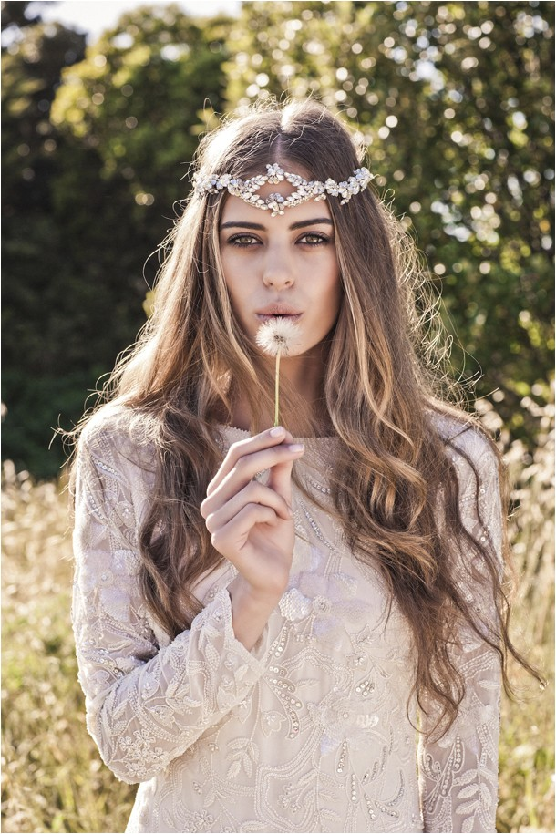 boho bridal accessories from bo luca