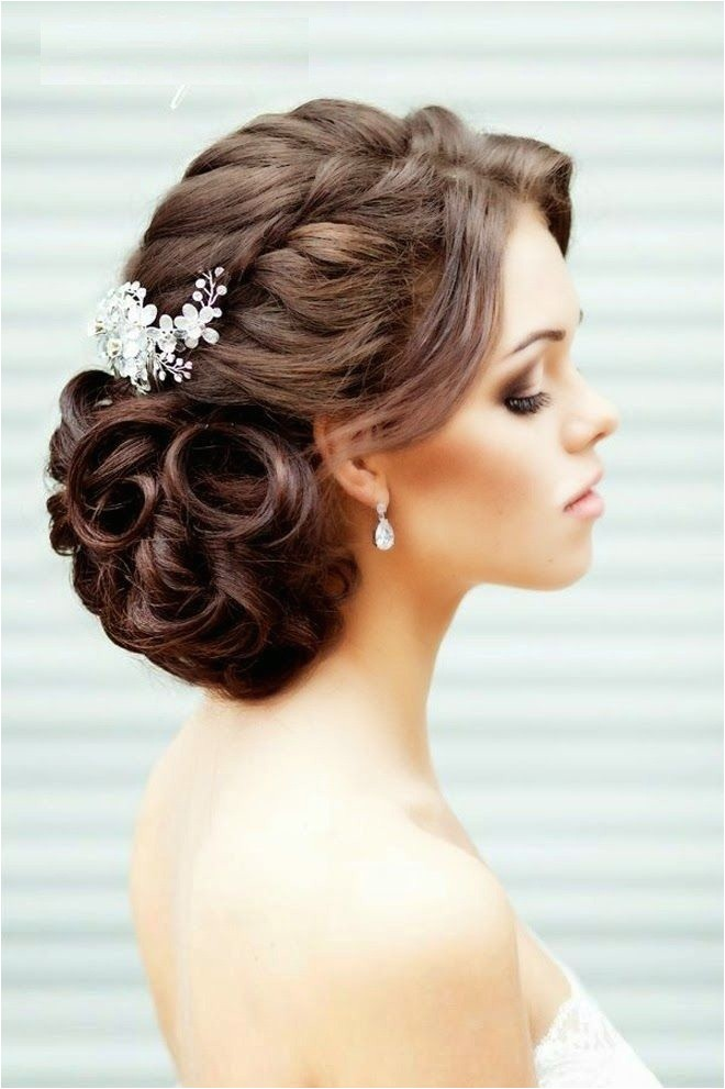 top 25 most beautiful romantic hairstyle ideas for the wedding day of a bride