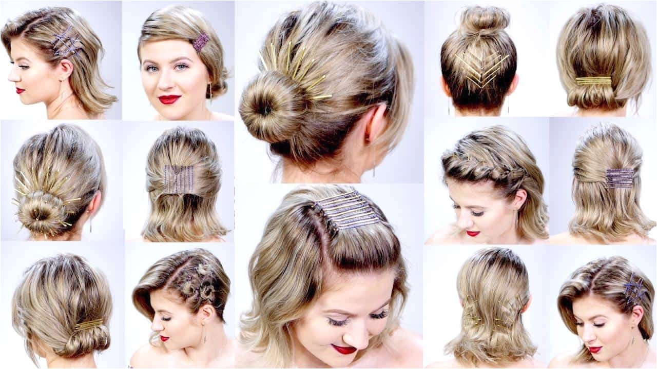 How to Do Easy Hairstyles for Short Hair Easy Hairstyles for Short Hair Short and Cuts Hairstyles