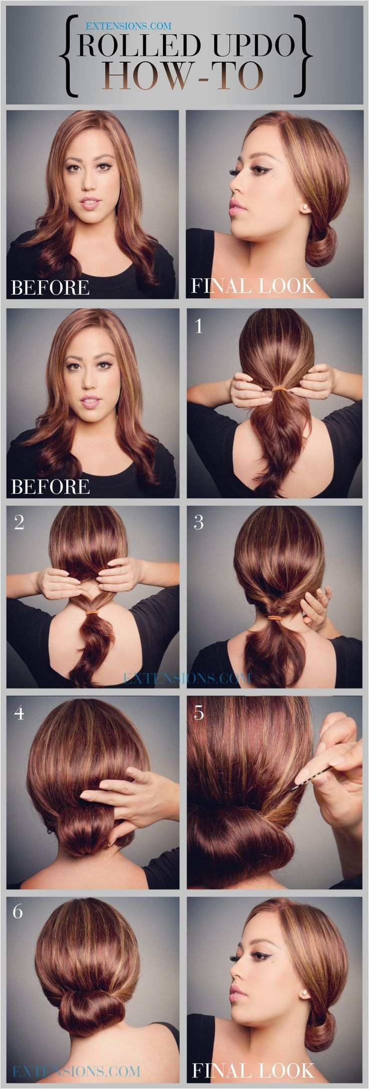 How to Do Easy Updo Hairstyles 12 Trendy Low Bun Updo Hairstyles Tutorials Easy Cute