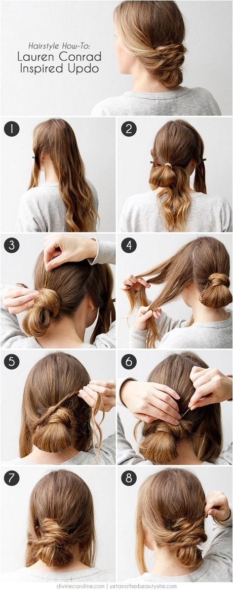 easy elegant updos for long hair