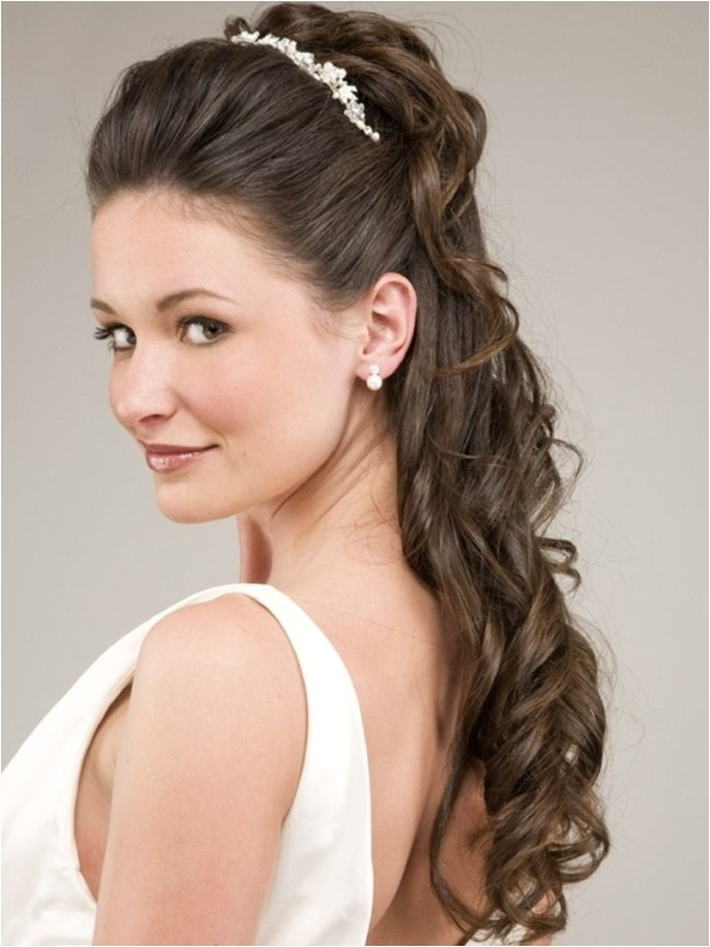 how to do bridal party hairstyles for long hair to the side swept