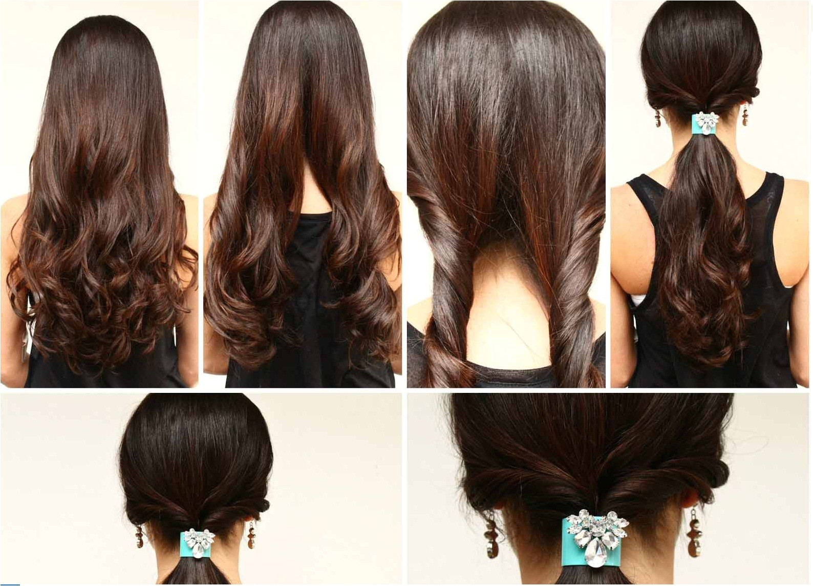 How to Make Easy Hairstyle at Home Latest Hairstyles for Stylish Girls 2015 16