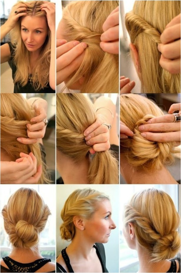 5 quick and easy hairstyles