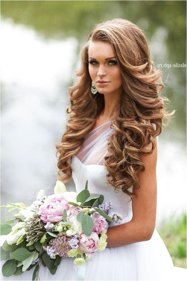 curly hairstyles for weddings long hair
