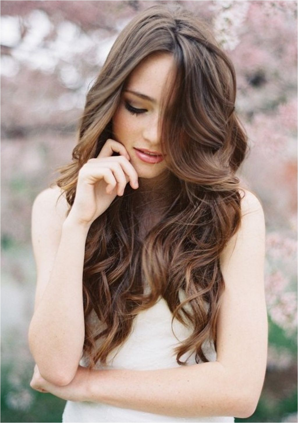 beautiful bridal wedding hairstyles long hair