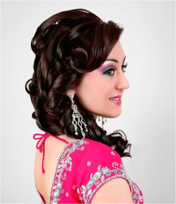 south indian wedding reception hairstyles
