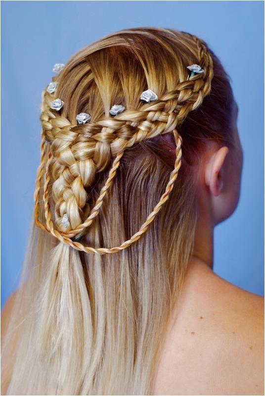 celtic wedding hairstyles