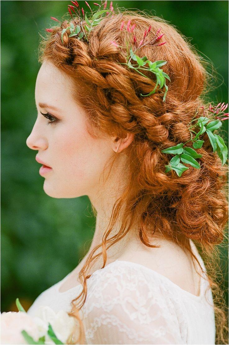 irish braids to gain celtic wedding hairstyle