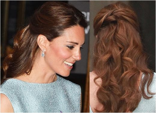 trend summer hairstyle kate middletons half up curls