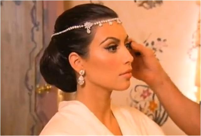 kim kardashian everyday old hollywood curls prom