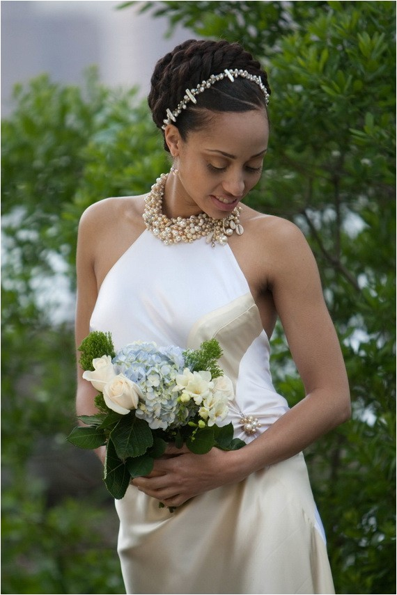 glamorous wedding hairstyles for black women