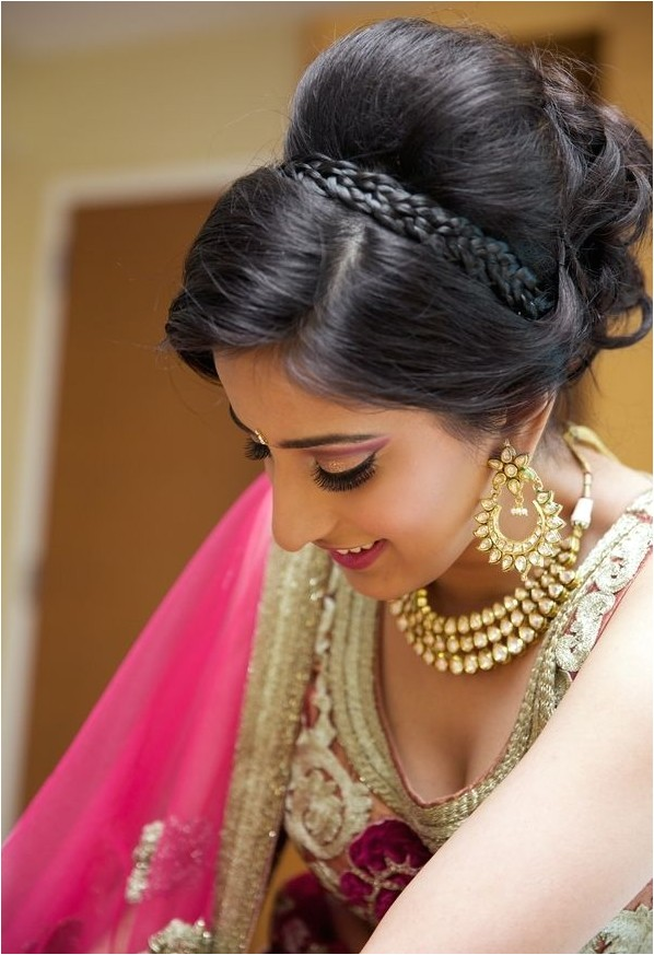 new south indian bridal hairstyles for wedding