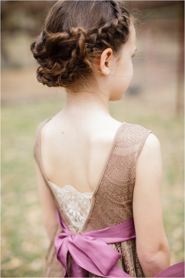 super cute little girl hairstyles for wedding