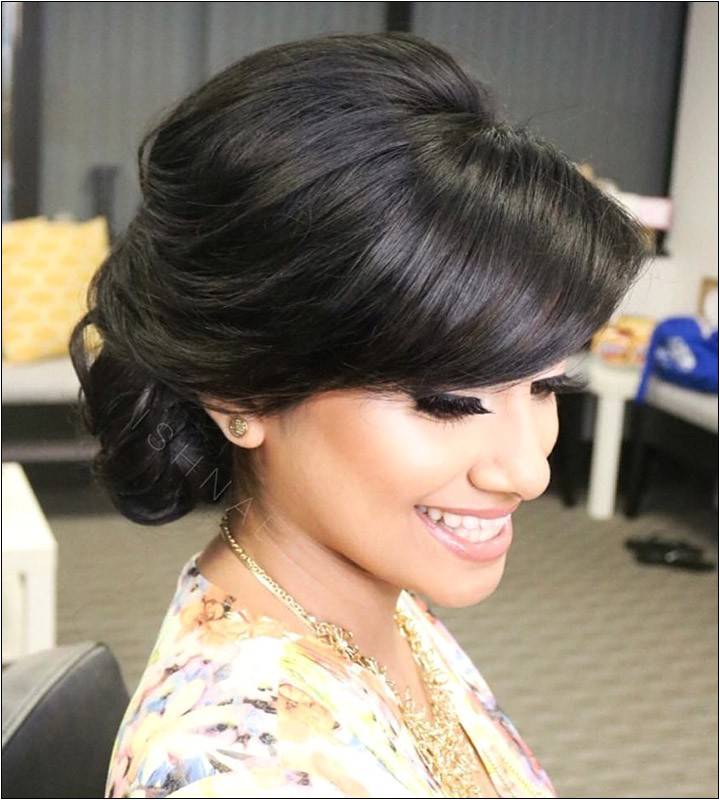 indian bridal hairstyles 0019