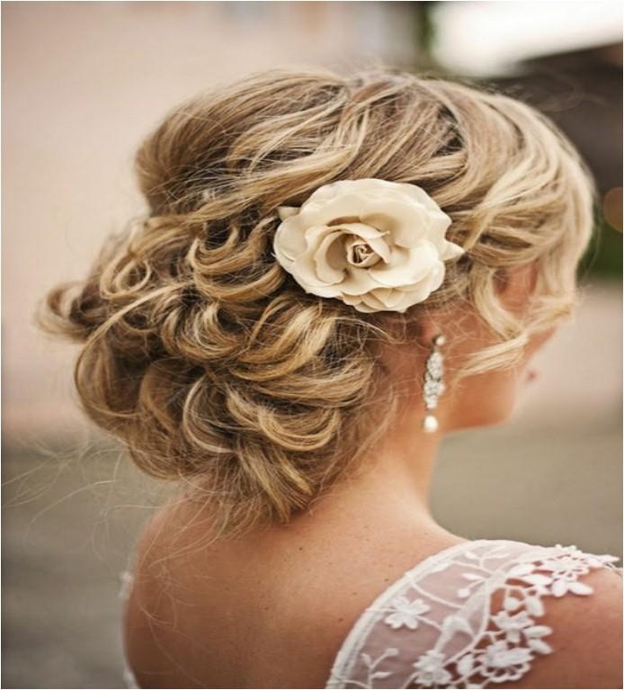 loose low bun wedding hairstyles