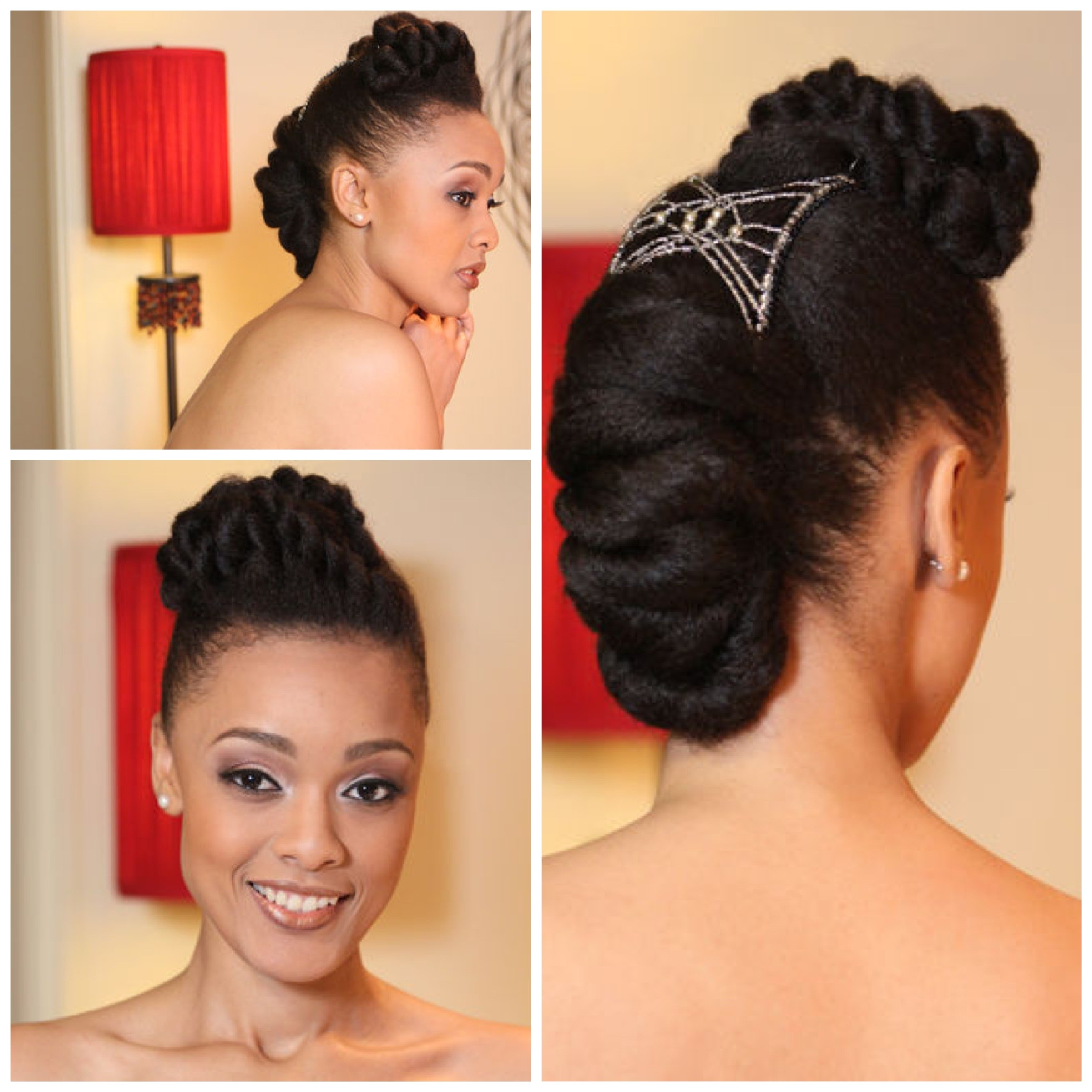 inspiration for natural hair brides