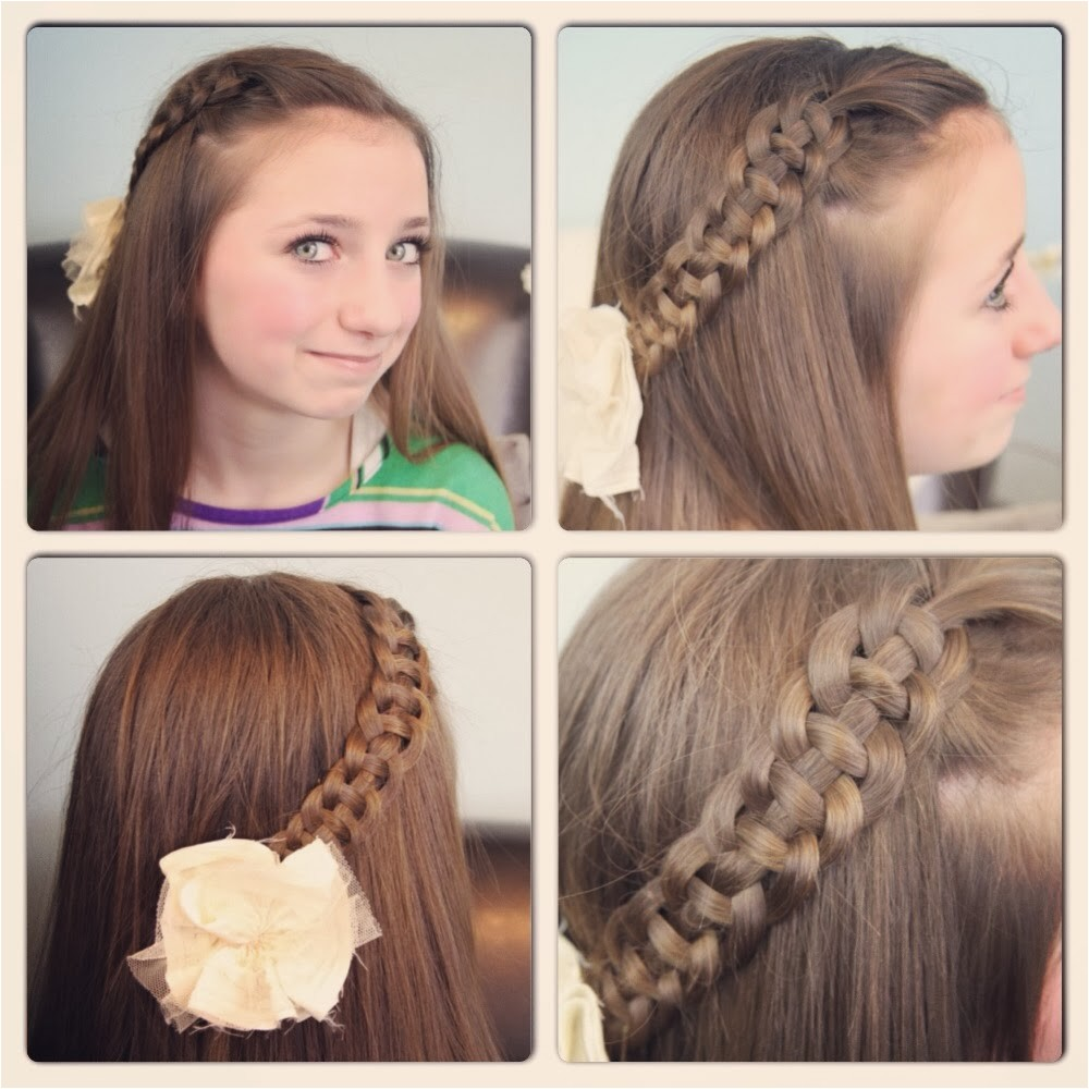 nice simple hairstyles for school