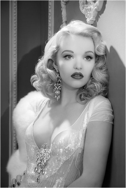 Old Hollywood Glamour Wedding Hairstyles 2
