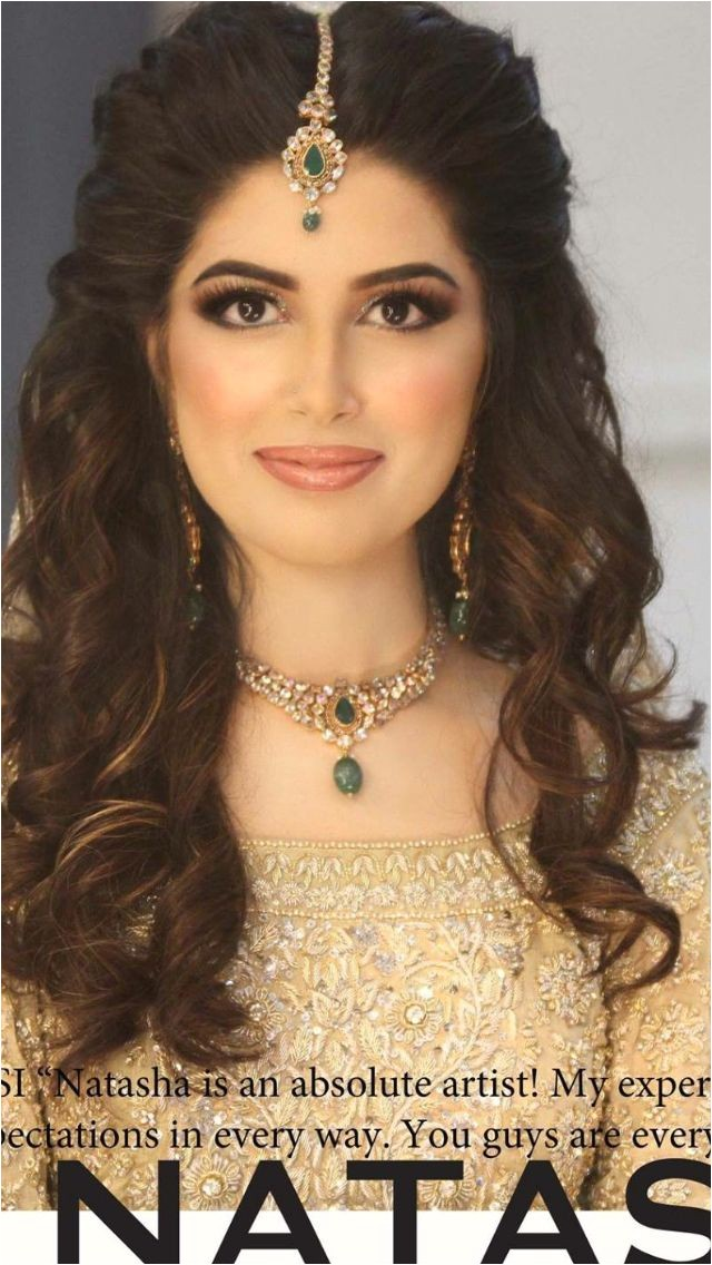 open hairstyles for indian wedding