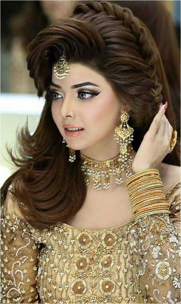 Pakistani Easy Hairstyle Pakistani Wedding Haircuts for Walima 2018 Easy and Chic