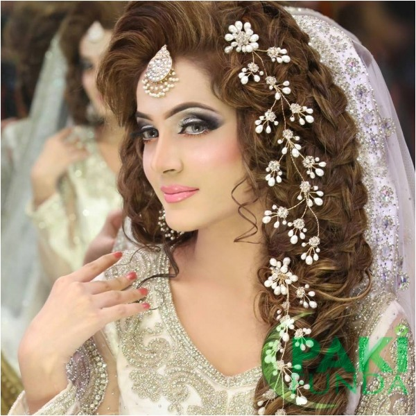 best pakistani bridal hairstyles bridal wedding hairstyles