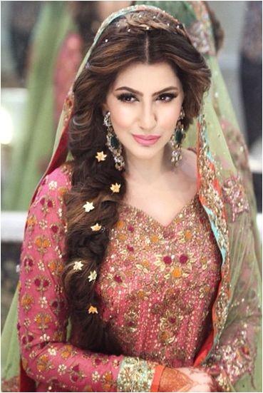 latest pakistani bridal wedding hairstyles trends 2016 2017