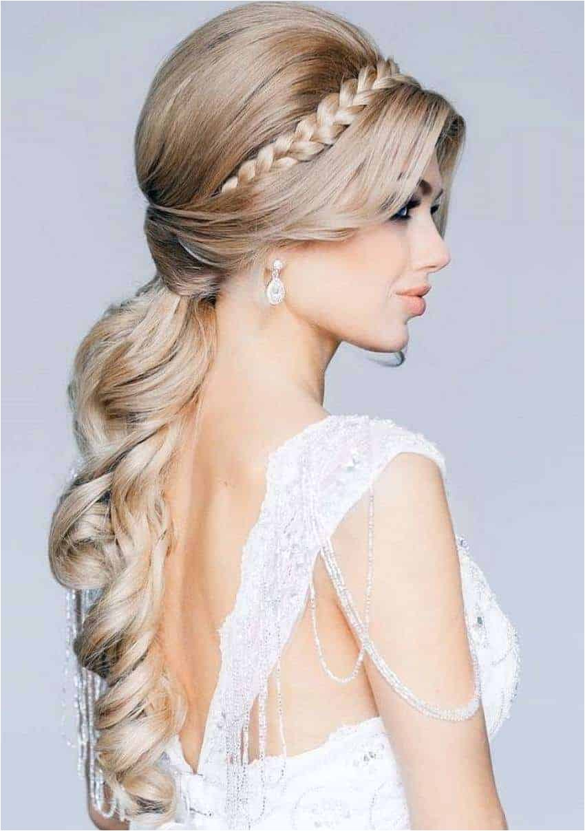 bridal hairstyles for long hair 2015