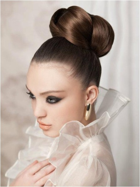 sleek twisted updo for brides I