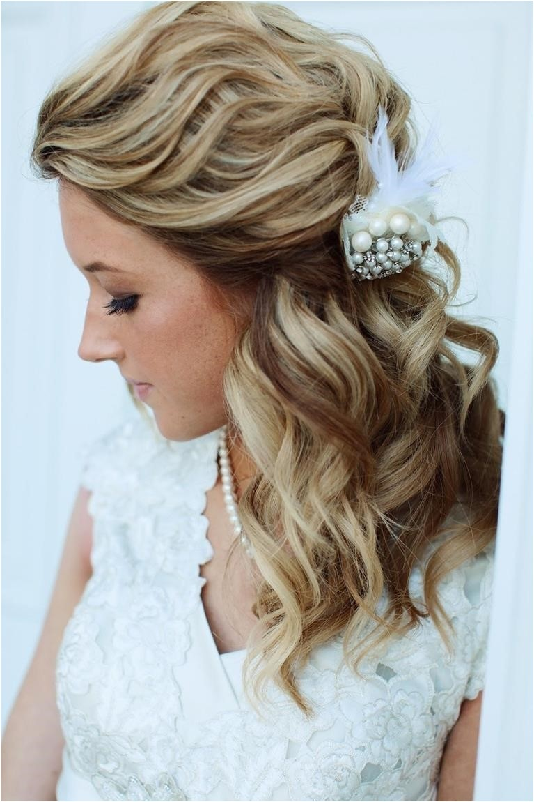 pictures of wedding hairstyle for medium length hair
