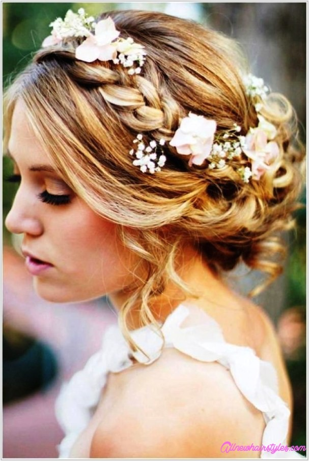 wedding hairstyles medium length hair
