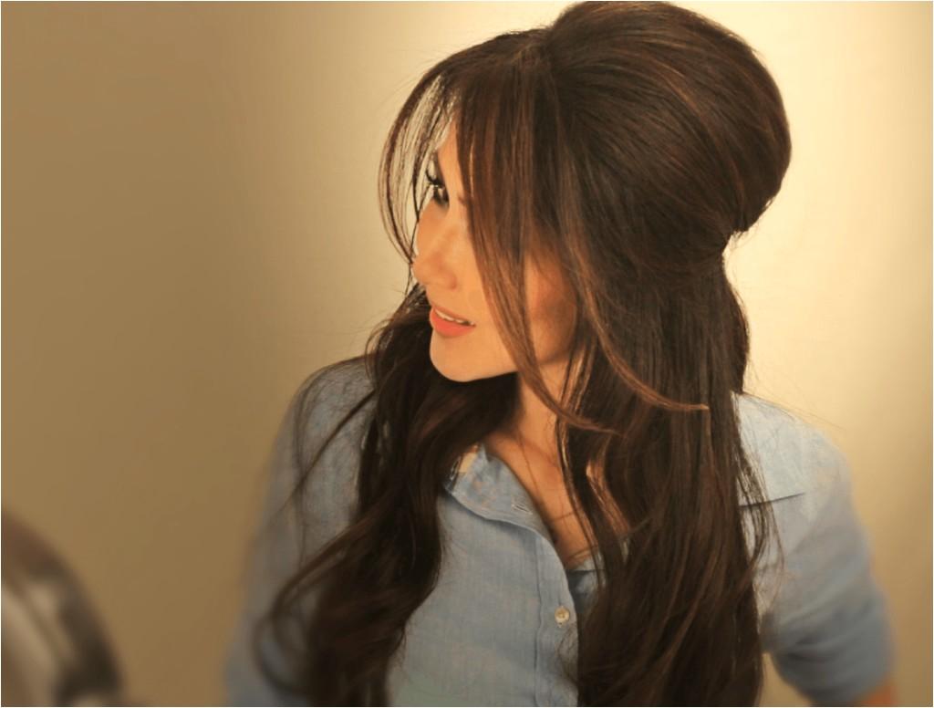 brigitte bardot hair tutorial video easy half updos hairstyles