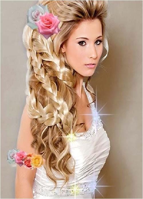 easy hairstyles long hair