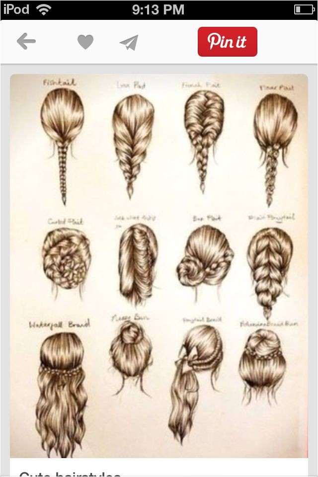 Pretty and Easy Hairstyles for School 1