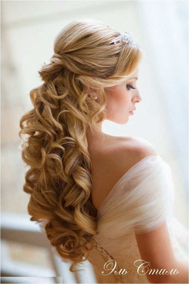 long hair wedding hairstyling ideas for brides bridesmaids