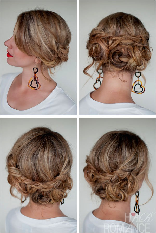 updo hairstyles easy to do yourself