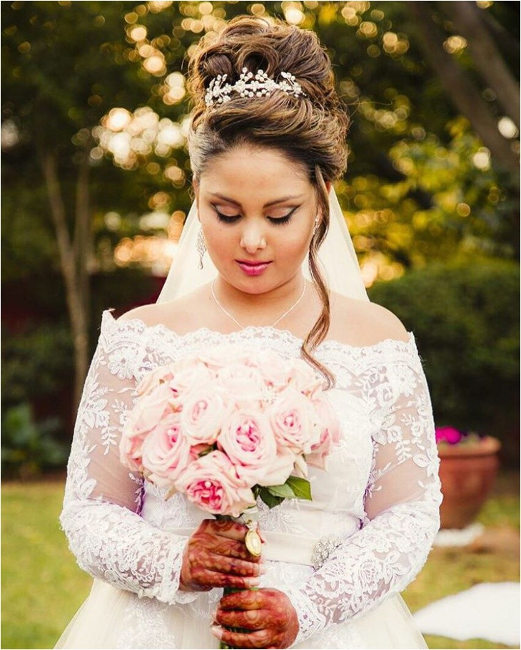 hairstyles for princess wedding dress