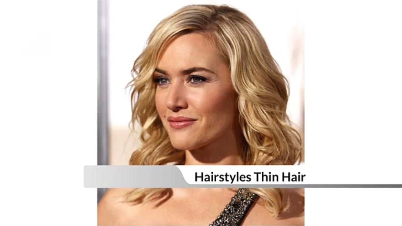 fast easy hairstyles for thin hair