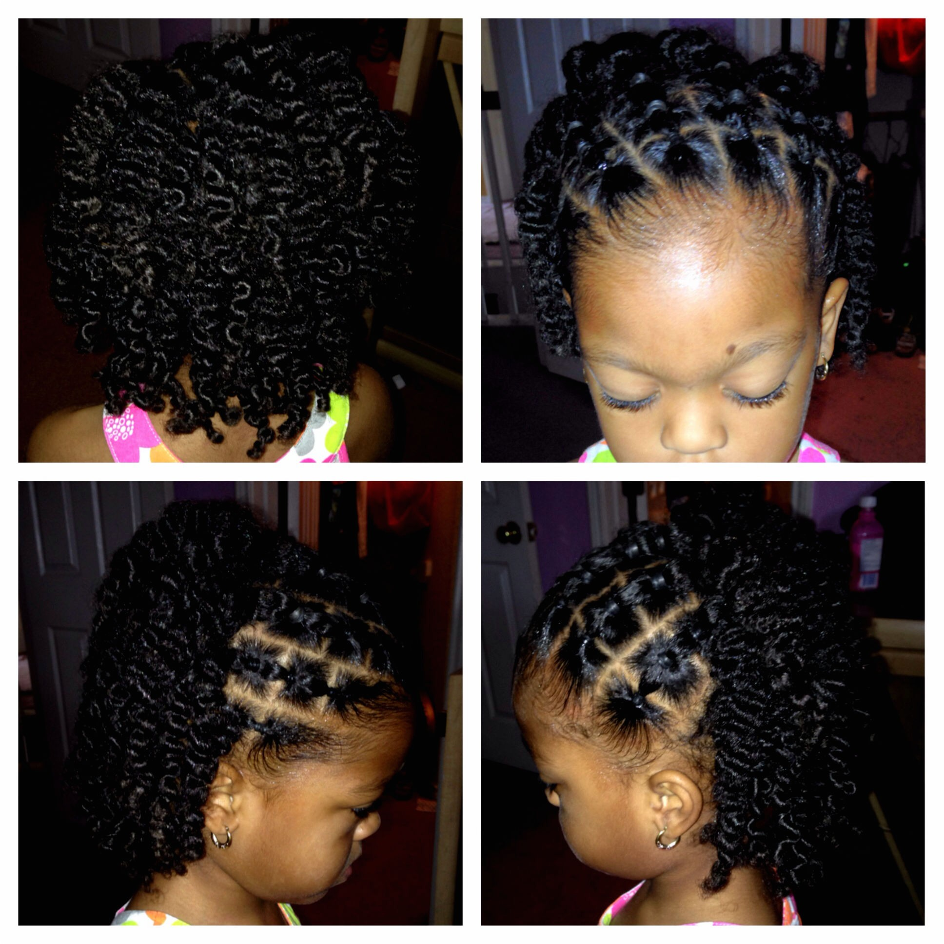 quick natural hairstyles for kids